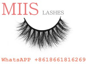 dramatic 3D siberian mink strip lashes